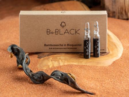 Bio-Black Bambusasche-Ampullen